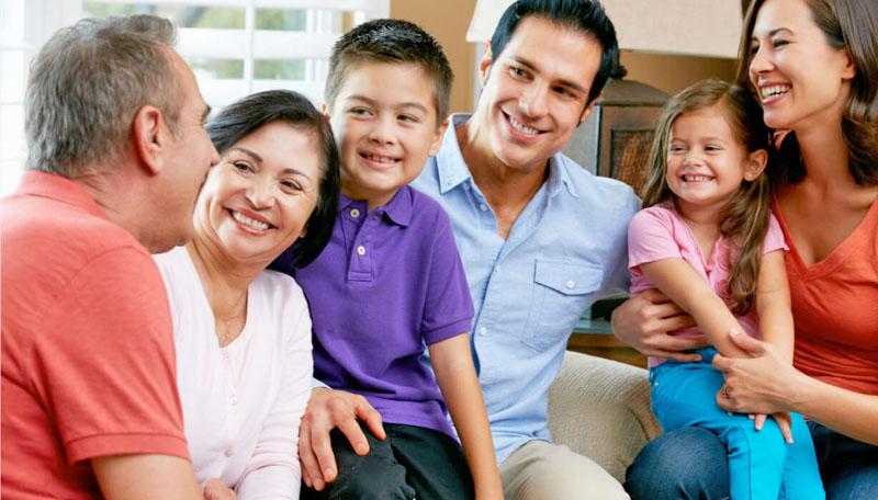 Familia numerosa, ¿trabajo arduo o trabajo en equipo?