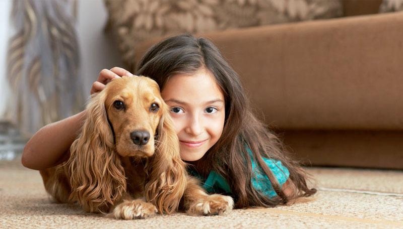 Mi hijo y su mascota